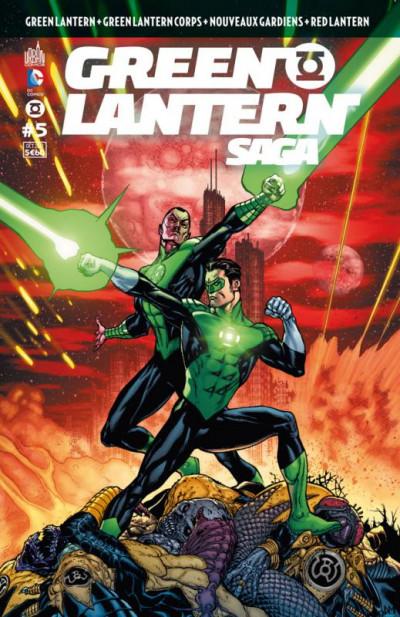 Couverture Green Lantern saga N.5