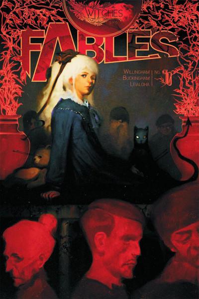 Couverture fables tome 17 - sorcières (souple)