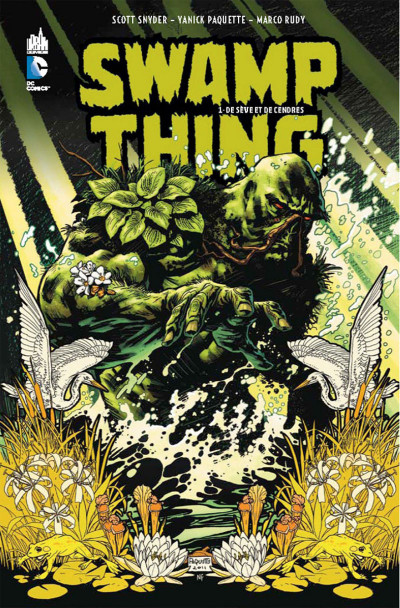 Couverture swamp thing tome 1 - de sève et de sang
