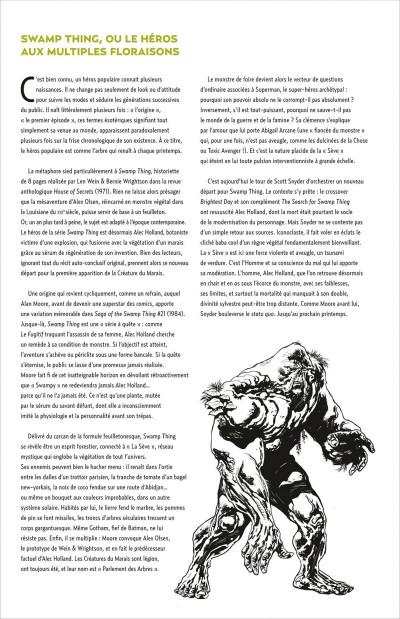 Page 4 swamp thing tome 1 - de sève et de sang