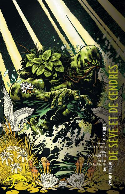 Page 6 swamp thing tome 1 - de sève et de sang