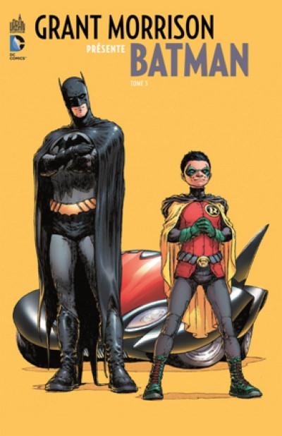 Couverture Grant Morrison présente Batman tome 3