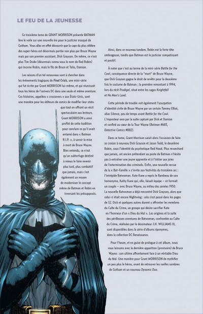 Page 4 Grant Morrison présente Batman tome 3