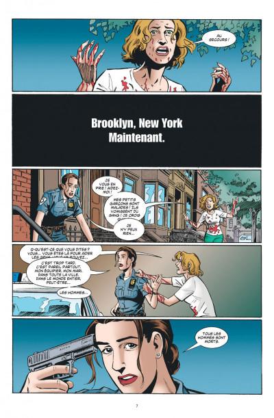 Page 7 Y le dernier homme tome 1