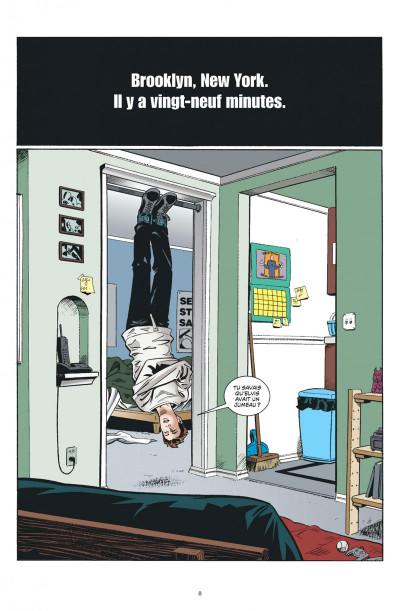Page 8 Y le dernier homme tome 1