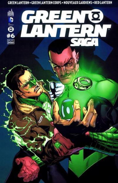 Couverture Green Lantern Saga tome 6