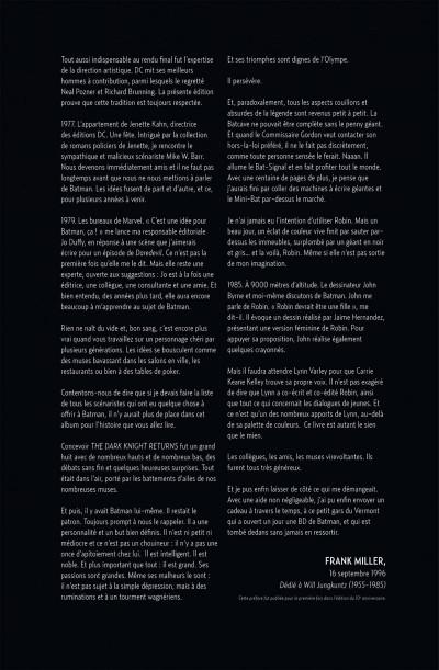 Page 6 Batman - the dark knight returns + dvd/bluray