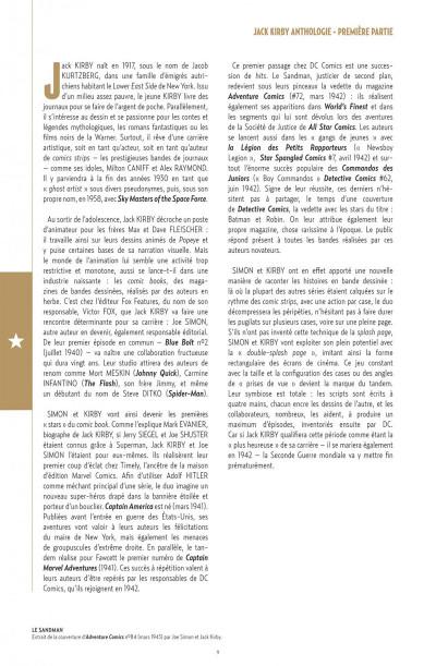 Page 9 Jack Kirby Anthologie