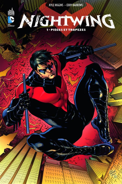 Couverture Nightwing tome 1