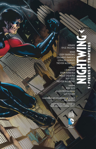 Page 3 Nightwing tome 1