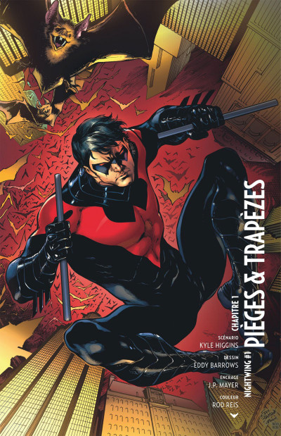 Page 4 Nightwing tome 1