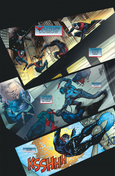 Page 8 Nightwing tome 1