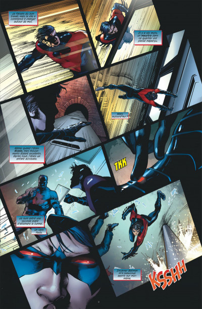Page 9 Nightwing tome 1
