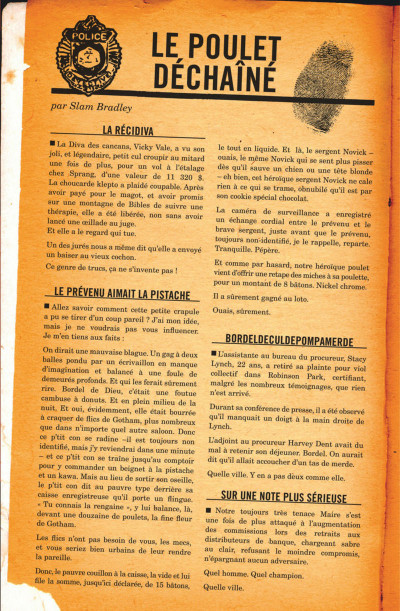 Page 7 Batman - année un