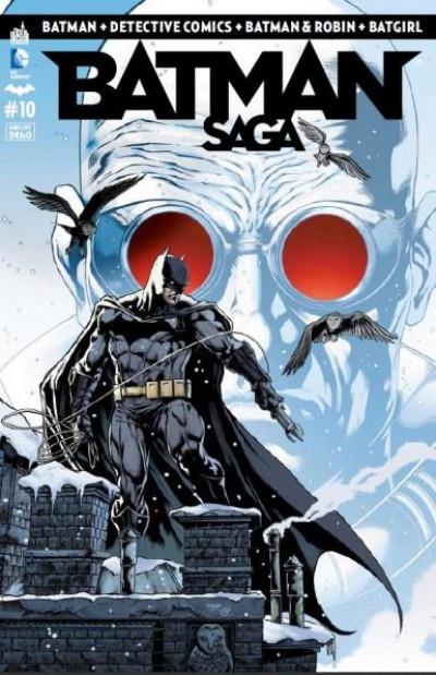 Couverture Batman saga tome 10