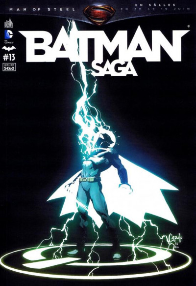 Couverture Batman Saga tome 13