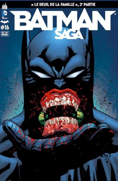 Couverture Batman saga tome 16