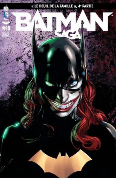 Couverture Batman Saga tome 18