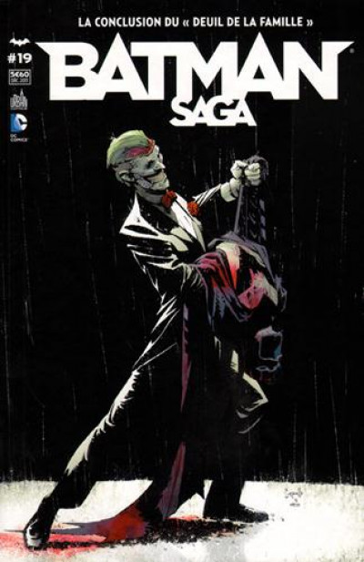 Couverture Batman Saga tome 19