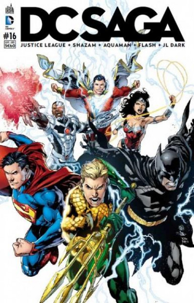 Couverture DC saga N.16