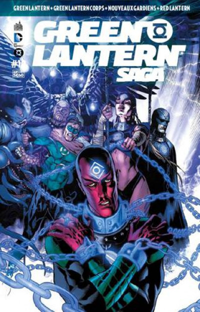 Couverture Green Lantern Saga tome 10