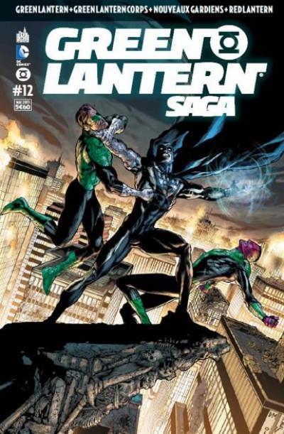 Couverture Green Lantern saga N.12