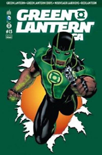 Couverture Green lantern saga 13