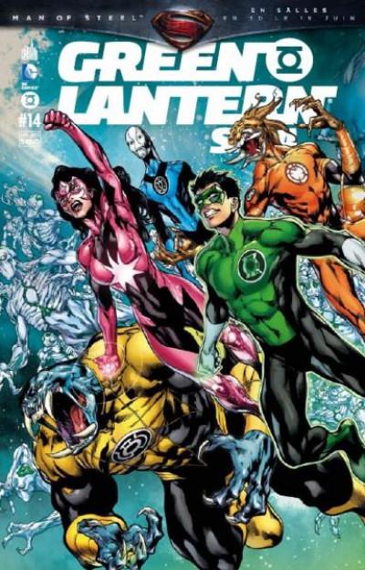 Couverture Green Lantern Saga tome 14