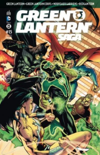Couverture Green Lantern Saga tome 15