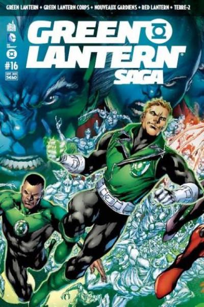 Couverture Green Lantern Saga tome 16