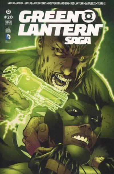 Couverture Green Lantern saga N.20