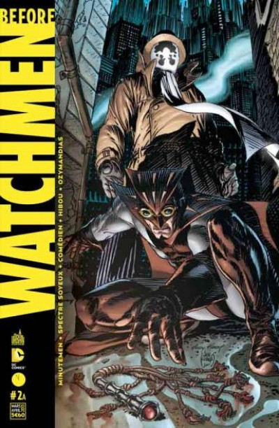 Couverture before Watchmen N.2