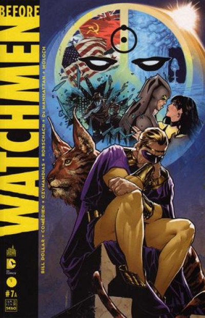 Couverture Before Watchmen N.7