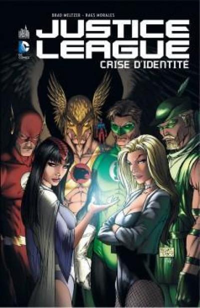 Couverture Justice League ; crise d'identité