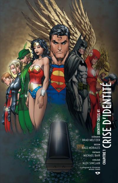 Page 1 Justice League ; crise d'identité