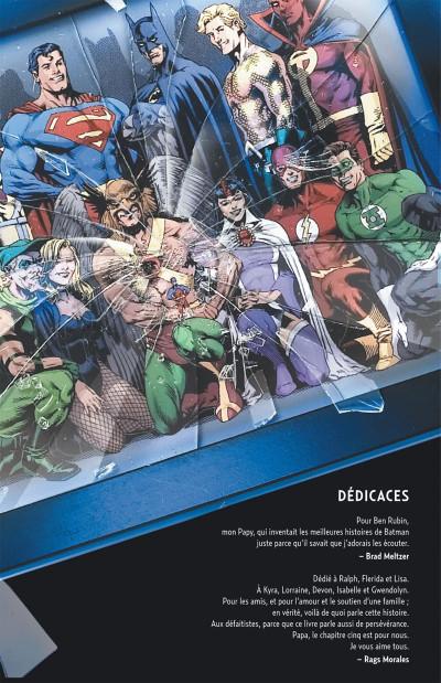 Page 4 Justice League ; crise d'identité