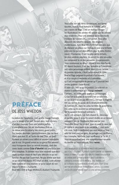 Page 5 Justice League ; crise d'identité