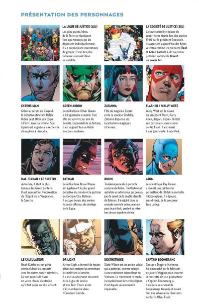 Page 7 Justice League ; crise d'identité
