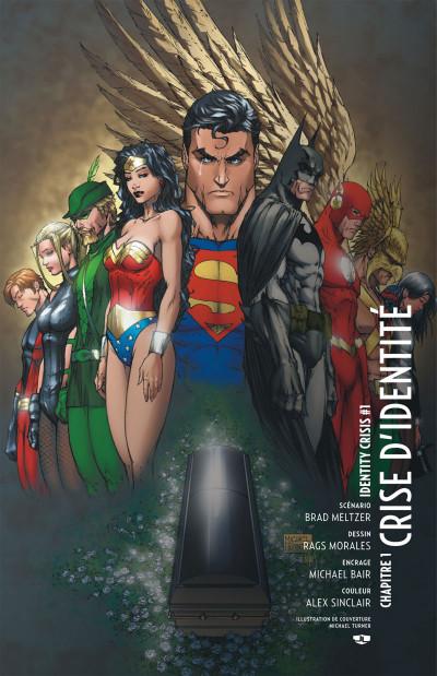Page 8 Justice League ; crise d'identité