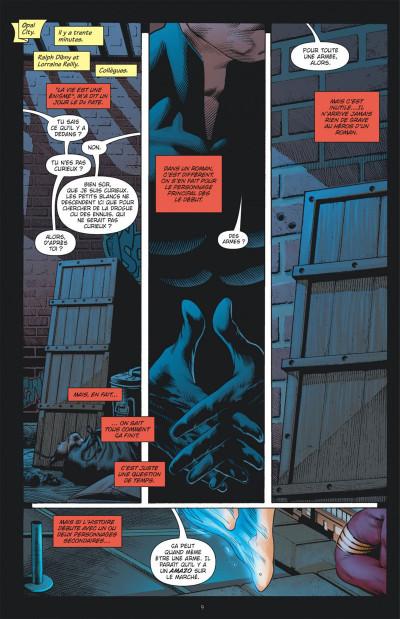 Page 9 Justice League ; crise d'identité