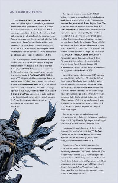 Page 4 Grant Morrison présente Batman tome 4