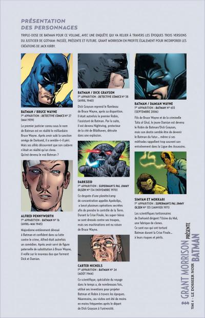 Page 5 Grant Morrison présente Batman tome 4