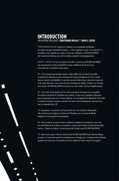 Page 5 Batman ; un long halloween