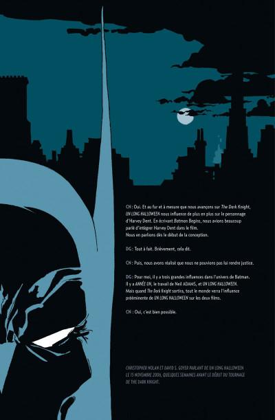 Page 7 Batman ; un long halloween