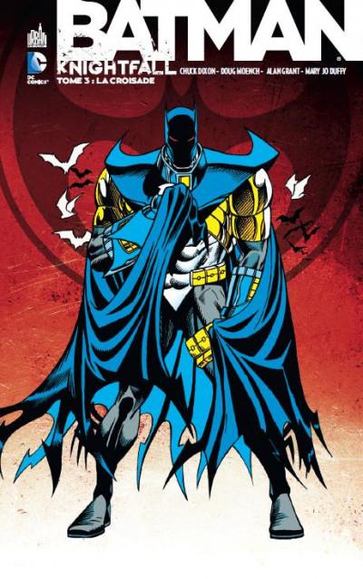Couverture Batman knightfall tome 3