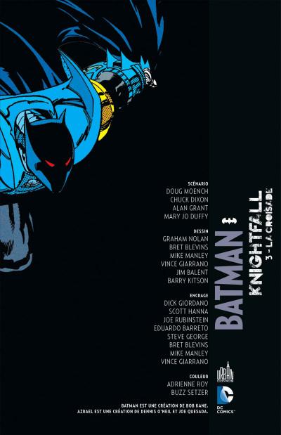 Page 3 Batman knightfall tome 3