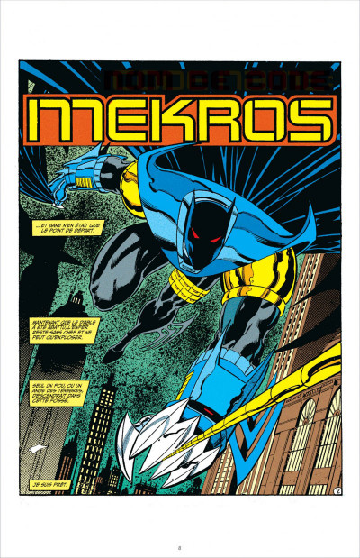 Page 8 Batman knightfall tome 3