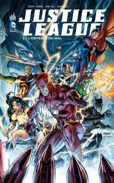 Couverture Justice league tome 2