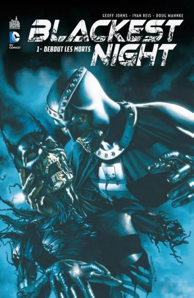 Couverture blackest night tome 1 - debout les morts