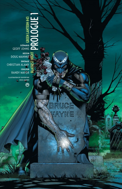 Page 1 blackest night tome 1 - debout les morts
